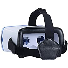 IHUAQI Google Cardboard Private Molds and Patent 3D Virtual Reality Headset Focal Length & IPD Adjustable proivde you crystal clear and immersive VR experience
