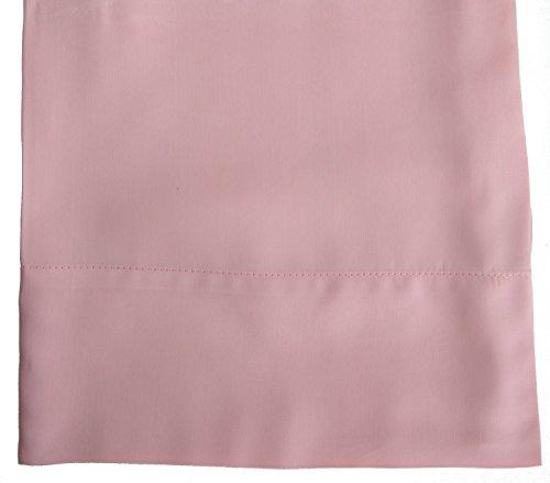 Hotel Sheets Direct 100% Bamboo Pillowcase Set 20 x 40 inch (2 King Pillowcases, Rose Pink)