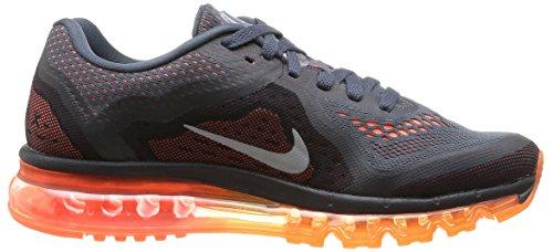 Nike Mens Air Max 2014 Scuro Mgnt Grigio / Riflettere Argento-iper Cr