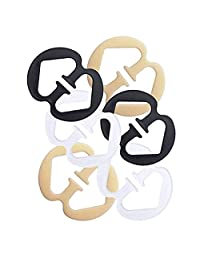 Solvang 6 Pcs Bra Strap Holder Clips for Cleavage Control