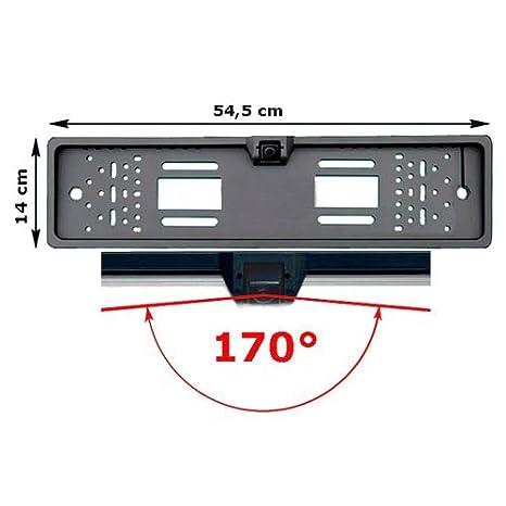170° Rückfahrkamera auf Nummernschild Kennzeichen Rückfahrsystem Einparkhilfe