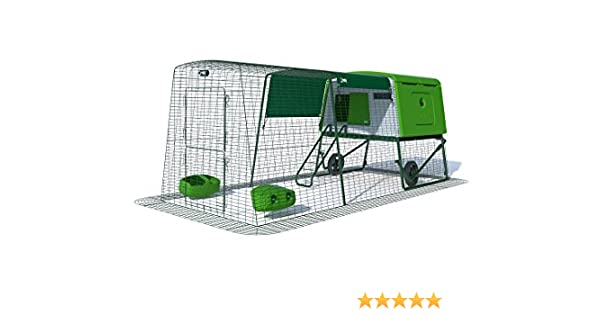 Amazon Omlet Eglu Cube Chicken Coop With 3m Secure Steel Mesh