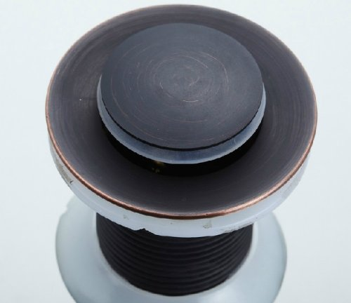Rozin Oil Rubbed Bronze Finish Pop up Vessel Basin Sink Strainers with Overflow