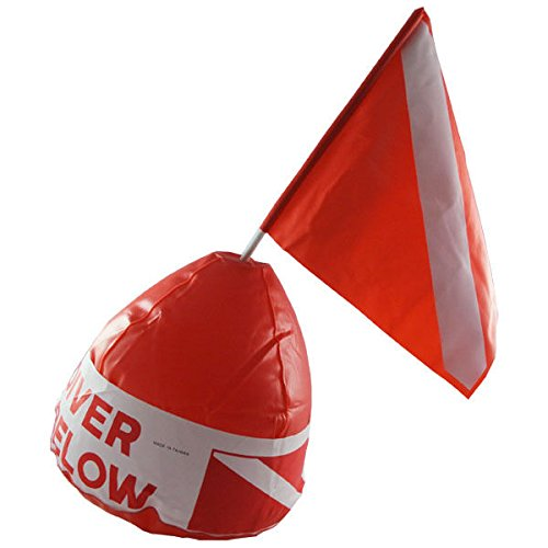 Scuba Choice Diver Below Inflatable Signal Floater with Dive Flag