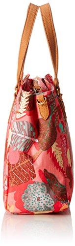 Oilily Damen Handbag Henkeltasche, 12x23.5x30 cm Pink (Pink Flamingo)