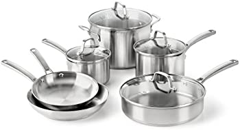 Calphalon 10-Pc. Stainless Steel Cookware Set