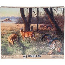 Magellan Outdoors 550 pc Jigsaw Puzzle 'End of the Harvest