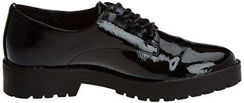 Mujer Oxford de Negro Zapatos para XTI Black Cordones 047512 EwgWYI