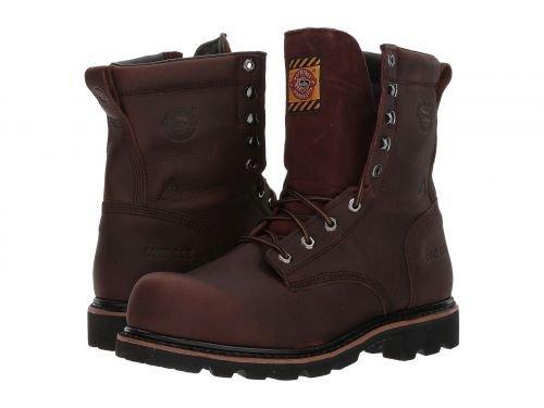 Justin(ジャスティン) メンズ 男性用 シューズ 靴 ブーツ 安全靴 ワーカーブーツ Miner Waterproof Comp Toe Lace-Up Briar Bark [並行輸入品] B07DNQR913 11.5 D Medium