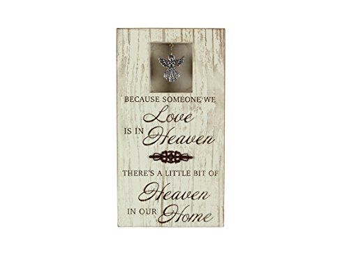 - Young's 15333 Wood Heaven Table Top Wall Sign, 11.5