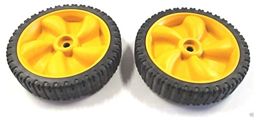 (MTD 634-04100A Pack of 2 Wheel Assemblies - 8 x 1.8)