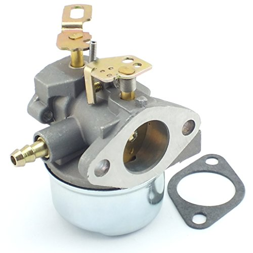 QAZAKY Carburetor for Tecumseh 640349 640052 640054 640058 640058A HMSK80 HMSK85 HMSK90 HMSK100 HSMK110 LH318A LH358SA 8HP 9HP 10HP Snowblower Generator Chipper Shredder Carb