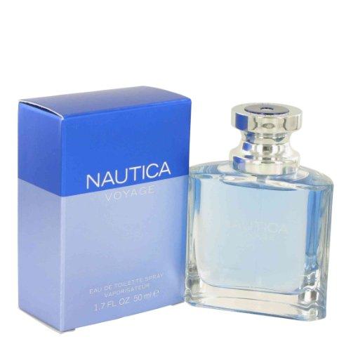 Nautica Voyage 146364 Toilette Spray for Men, Eau De, 1.7 oz.