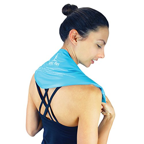 Neck Ice Pack By Arctic Flex Cold Compress Therapy Wrap