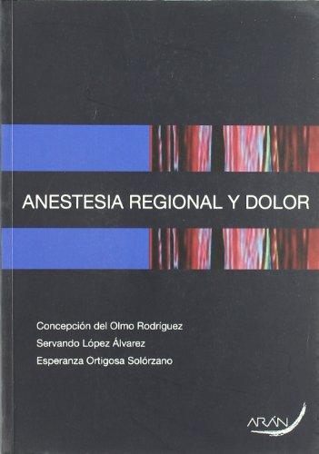 Descargar Libro Anestia Regional Y Dolor Aa.vv.