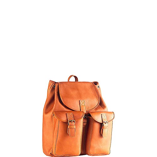 (Clava Drawstring Backpack (Vachetta Tan))
