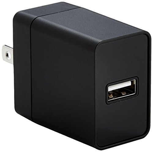 AmazonBasics One Port USB Charger 12 Watt Compatible