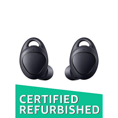Samsung Gear IconX Cord Free Fitness Earbuds (SM-R140NZKAXAR) Black (Renewed)