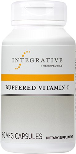 Integrative Therapeutics - Buffered Vitamin C 1,000mg - Antioxidant Support Supplement - Easy on Sensitive Stomach - 60 Buffered Vitamin C (Buffered Vitamin C Capsules)