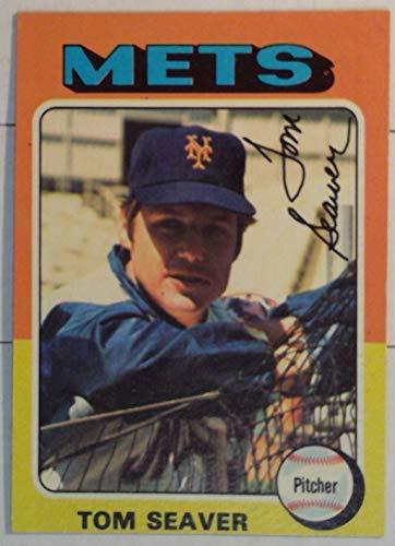 Topps Chewing Gum - Topps 1975 Tom Seaver Mets Pitcher Baseball Card # 370