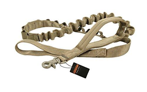 pettom-heavy-duty-adjustable-nylon-tactical-military-us-army-police-dog-training-leash-elastic-pet-q