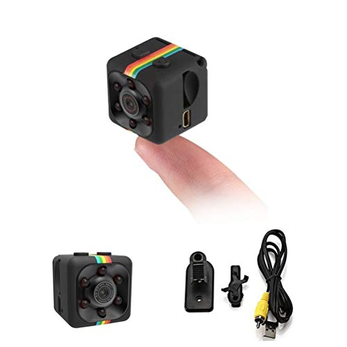 WZTO Mini Hidden spy Camera, Full HD 720P Body Camera Action Camera Wireless Camera Built-in Microphone with Night Vision Motion Detection for Home Security, Drones, FPV, Home and Office Surveillance