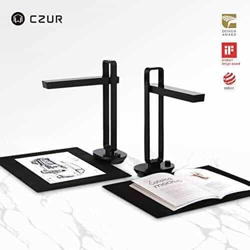 CZUR Book Scanner and Smart Scanner (Aura)