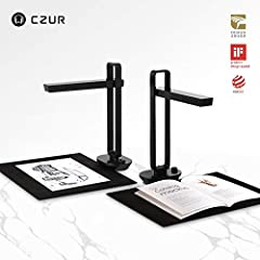 CZUR Aura, the Next-Generation Smart Scanner, A combination of a Smart Scanner and a Multifunctional Desk Lamp. CZUR Aura is not only a book scanner but also a high-quality table lamp. Traditionally, books are difficult and slow to scan due t...