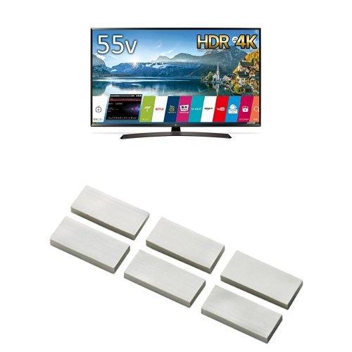 LG 55V型 4K 液晶テレビ HDR対応 55UJ630A(2017年モデル) (耐震マット付) B076T349X9