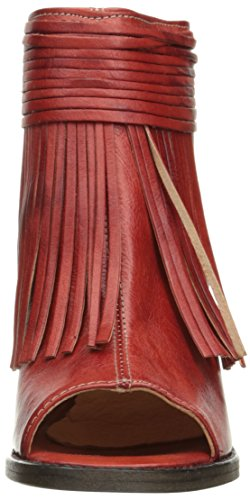 Bed|Stu Women's Olivia Heeled Sandal, Red Ferrari, 9 M US by Bed|Stu (Image #4)'