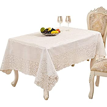 E lip bronzing rectangle tablecloth waterproof oil proof heat resistant pvc dining - Heat resistant table cloth ...