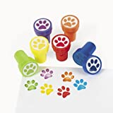 Plastic Paw Stampers (2 dz)