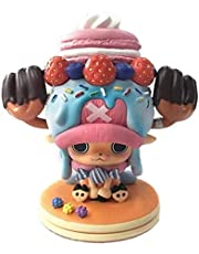11cm Mini Toy Animations Character Modelel One Piece Sweety Tony Tony Chopper Japanese Anime Cartoon Character Statue Doll Figurine Decoration for Boy Girl Gift