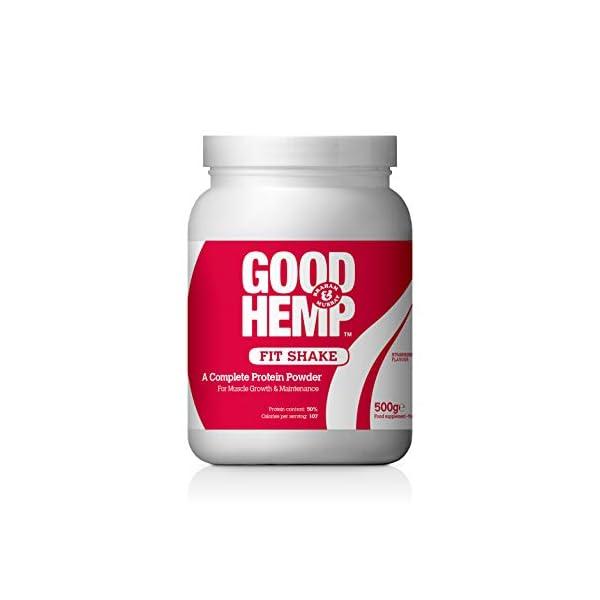 Good Hemp + Strawberry Fit Shake + 500g