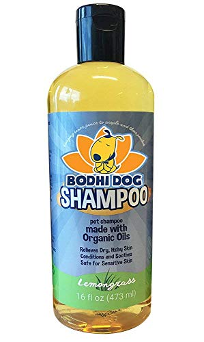 Organic Dog Shampoo | Soothing All Natural Hypoallergenic Pet Shampoo Dogs & Cats | Certified to USDA Food Standards | 100% Non-Toxic | Made in USA - 1 Bottle 16oz (473ml)