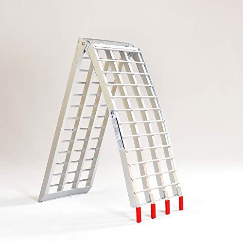 EmpireCovers Aluminum Folding ATV/UTV Ramp - 7.5' Long, 2,000 lb Weight Capacity (Sold as Pair) by EmpireCovers (Image #3)