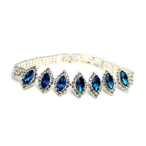 Copper Crystal Bracelet - 8