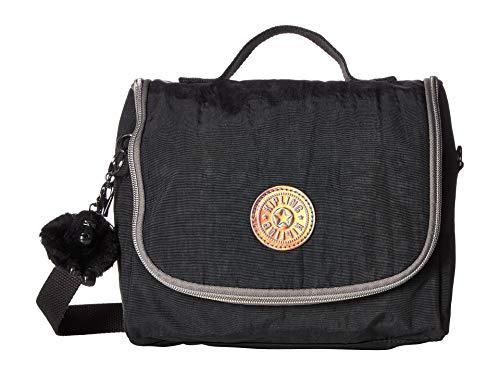 Kipling Kichirou Insulated Lunch Bag, Removable, Adjustable Crossbody Strap, Zip Closure, Black