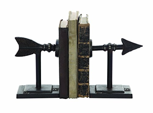 Creative Co Op Metal Arrow Bookend
