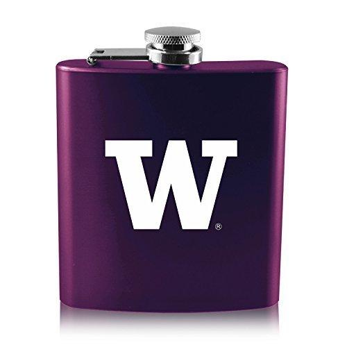 数量は多い  大学のwashington-6オンスカラーステンレススチールflask-purple B0188J0CQ6 B0188J0CQ6, Import Brand Grace:ea6b1029 --- tadkarecipes.com