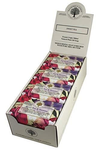 Australian Soapworks Wavertree & London 200g Soap - Sweet Pea & -