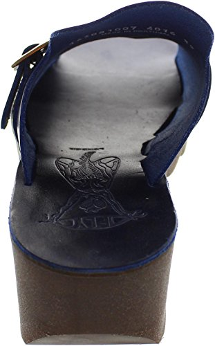 Fly London  Yuki, Damen Sandalen blau blau