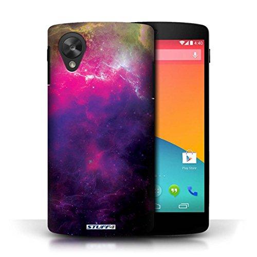 Kobalt® Imprimé Etui / Coque pour LG Google Nexus 5/D821 / Nébuleuse Pourpre conception / Série Cosmos