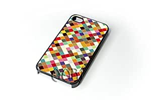 Retro colorful iPhone 4 4S case / iPhone 4 Case - 4G AArt 001 -AT&T, Verizon & Worldwide Providers...