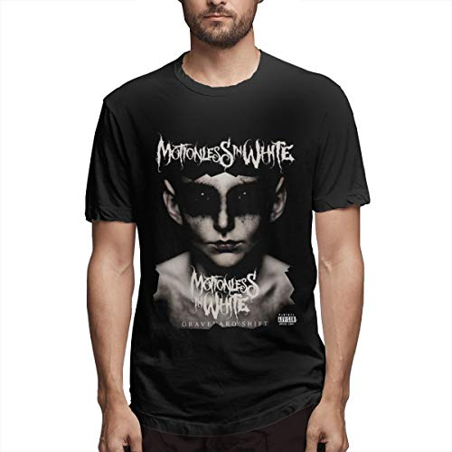 Casual T Shirt,Motionless in White 2 Tees Summer Short Sleeve Round -