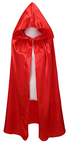 VGLOOK Kids Halloween Costumes Christmas Cloak with Hood