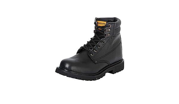 Amazon.com | Botin Trabajo S/C Agujetas ID 35213 Procliff Protection (Bot) Flother Cuero Negro (7.5) | Boots