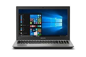 "Medion P6687 - MD 60882  - Ordenador portátil de 15.6"" HD (Intel Core i5-8250U-QC, 8 GB RAM, 1 TB HDD + 128 GB SSD, NVIDIA MX150 2GB, Windows 10) - Teclado QWERTY español [España]"