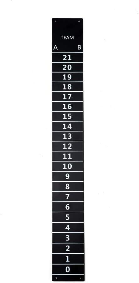 Iparts Cornhole Steel Scoreboard with Magnetic Score Keepers