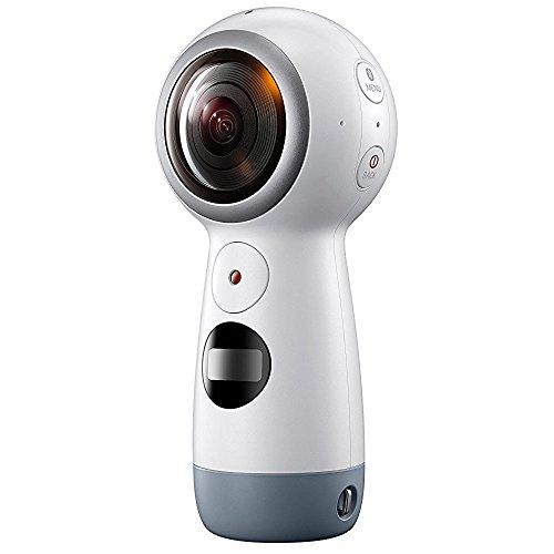 Samsung Gear 360 SM-R210 (2017 Edition) Spherical Cam 360 degree 4K Camera (International Version)